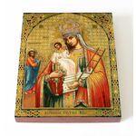Молченская Икона Божией Матери со святым Иаковом Заведеевым, 13*16,5 - Иконы
