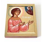 Блаженная Муза Римляныня, икона на доске 13*16,5 см - Иконы