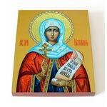 Мученица Наталия Никомидийская, икона на доске 13*16,5 см - Иконы