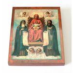 Свенская Печерская икона Божией Матери, доска 13*16,5 см - Иконы