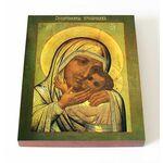 """Икона Божией Матери """"Спасительница утопающих"""", печать на доске 13*16,5 см - Иконы"""