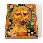 Спас Златые Власы, XIII в, икона на доске 13*16,5 см - Иконы