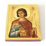 Великомученик Фанурий Родосский, икона на доске 13*16,5 см - Иконы