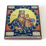 Трубчевская икона Божией Матери, печать на доске 14,5*16,5 см - Иконы