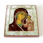 Казанская Касимовская икона Божией Матери, печать на доске 14,5*16,5см - Иконы