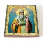 Святитель Алексий митрополит Московский, печать на доске 14,5*16,5 см - Иконы