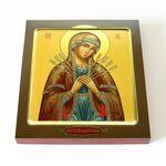 """Икона Божией Матери """"Семистрельная"""", печать на доске 14,5*16,5 см - Иконы"""
