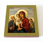 """Икона Божией Матери """"Трех Радостей"""", печать на доске 14,5*16,5 см - Иконы"""