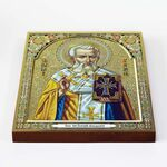 Священномученик Григорий Армянский, икона на доске 20*25 см - Иконы