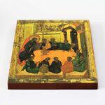 Тайная Вечеря, Андрей Рублев, 1425-1427 гг, икона на доске 20*25 см - Иконы