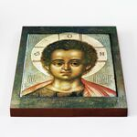 Христос Эммануил, икона на доске 20*25 см - Иконы