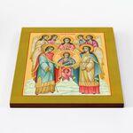 Собор Архангела Михаила, икона на доске 30*36 см - Иконы
