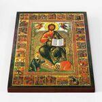 Спас на престоле с праздниками, икона на доске 30*40 см - Иконы