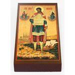 Великомученик Никита Готфский, доска 7*13 см - Иконы