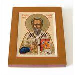 Священномученик Александр Иерусалимский, икона на доске 8*10 см - Иконы