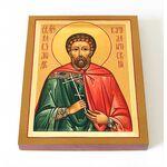 Мученик Александр Каталитский, кузнец, икона на доске 8*10 см - Иконы