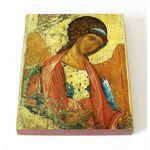Архангел Михаил, Андрей Рублев, икона на доске 8*10 см - Иконы