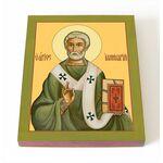 Священномученик Ианнуарий Беневентский, икона на доске 8*10 см - Иконы