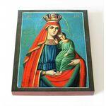"""Икона Божией Матери """"Избавление от бед страждущих"""", доска 8*10 см - Иконы"""