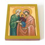 Праведные Иоаким и Анна, икона на доске 8*10 см - Иконы