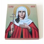 Мученица Лариса Готфская, икона на доске 8*10 см - Иконы