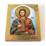 Великомученик Никита Готфский, икона на доске 8*10 см - Иконы