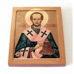 Святитель Павлин Милостивый, печать на доске 8*10 см - Иконы