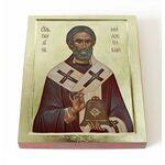 Святитель Павлин Милостивый, икона на доске 8*10 см - Иконы