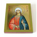 Мученица Раиса Александрийская, Ираида, икона на доске 8*10 см - Иконы