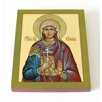 Мученица Руфина Кесарийская, Каппадокийская, икона на доске 8*10 см - Иконы