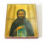 Преподобномученик Симон Воломский, Устюжский, печать на доске 8*10 см - Иконы