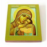"""Икона Божией Матери """"Спасительница утопающих"""", печать на доске 8*10 см - Иконы"""
