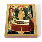 Успение Пресвятой Богородицы, 1390 г, печать на доске 8*10 см - Иконы