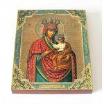 Черниговская-Гефсиманская икона Божией Матери, доска 8*10 см - Иконы