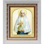 Преподобномученица великая княгиня Елисавета, в белом киоте 14*16 см - Иконы