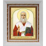 Апостол от 70-ти Дионисий Ареопагит, икона в белом киоте 14*16 см - Иконы