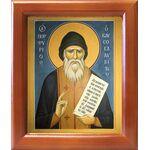 Преподобный Порфирий Кавсокаливит, икона в рамке 12,5*14,5 см - Иконы