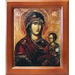 """Икона Божией Матери """"Попская"""", """"Иерейская"""", рамка 12,5*14,5 см - Иконы"""