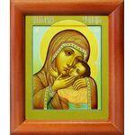 """Икона Божией Матери """"Спасительница утопающих"""", рамка 8*9,5 см - Иконы"""