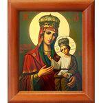 Черниговская-Ильинская икона Божией Матери, рамка 8*9,5 см - Иконы