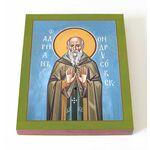 Преподобномученик Адриан Ондрусовский, икона на доске 13*16,5 см - Иконы