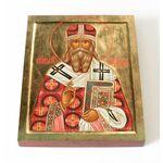 Священномученик Александр Трапицын, Самарский, доска 13*16,5 см - Иконы