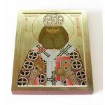 Священномученик Андроник, архиепископ Пермский, икона на доске 13*16,5 см - Иконы