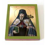 Святитель Антоний Воронежский, икона на доске 13*16,5 см - Иконы
