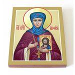 Преподобная Анфиса Мантинейская, икона на доске 13*16,5 см - Иконы