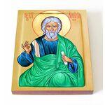 Апостол от 70-ти Анания Дамасский, икона на доске 13*16,5 см - Иконы