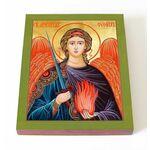 Архангел Уриил, икона на доске 13*16,5 см - Иконы