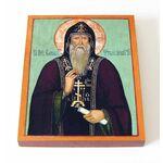 Преподобный Варлаам Хутынский, икона на доске 13*16,5 см - Иконы