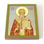 Священномученик Василий Амасийский, епископ, икона на доске 13*16,5 см - Иконы