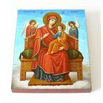 """Икона Божией Матери """"Всецарица"""", доска 13*16,5 см - Иконы"""
